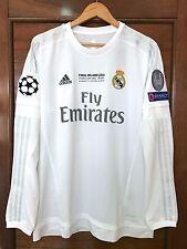 Adidas Real Madrid Cristiano Ronaldo 2015-16 UEFA Champions Final Milano jersey