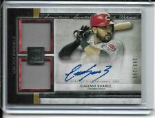 2020 Topps Museum Collection Eugenio Suarez Auto Jersey /299 Game Used