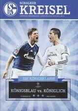 Schalker Kreisel + 26.02.2014 + FC Schalke 04 vs. Real Madrid + CL Programm +