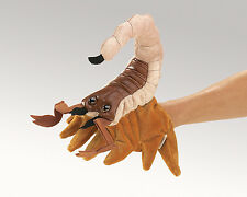 Scorpion Hand Puppet with Moveable Legs, Folkmanis MPN 2975, Boys & Girls, 3 Up