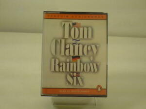 Rainbow Six by Tom Clancy. Audio Book Cassettes.