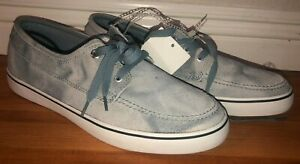 Converse Cons Ox Leather Vintage Shoes Blue Gray Mens Sz 10 NWT