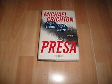 PRESA DE MICHAEL CRICHTON LIBRO DE PLAZA & JANES PRIMERA EDICION DEL AÑO 2003