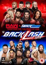 WWE Backlash 2018 [DVD] *NEU* Deutsch, Deutscher Kommentar Raw & Smackdown