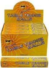 Paquete De 6 Blanco Mesa Pelotas tenis (T04 007)