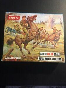 AIRFIX MODEL KIT - Royal Horse Artillery - 33 scale pieces