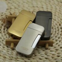 Cigar Torch Jet Lighter Windproof Two Flame Refillable Butane Cigarette Lighters