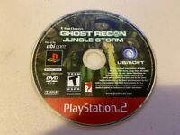 GHOST RECON: JUNGLE STORM - PS2 PlayStation 2 - DISC ONLY