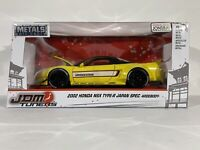 ⭐️⭐️⭐️NIB JDM Tuners Series 2002 Honda NSX Type-R Japan Widebody 1:24 Jada