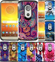 For Motorola Moto E5 Cruise / Moto E5 Play Phone Cover Slim Hybrid Armor Case