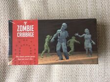 Zombie Cribbage Parlor Game Forrest-Pruzan Creative NEW & SEALED