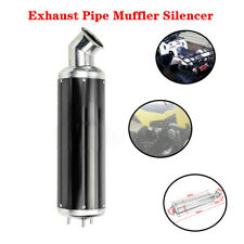 32MM Aluminum Elbow ATV Bike Motorcycle Exhaust Silencer Pipe Muffler System