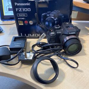 Panasonic LUMIX FZ100 Full HD Camera Complete Package - USED