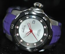 Invicta Mens Rare Venom Sea Dragon Automatic Silver Dial Purple Poly Watch 19308