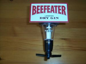 Beefeater 25 ml Optic. NEW. Ideal for home bar or Man Shed