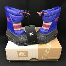 SOREL Toddler Cub Purple Lotus Pink Winter Sports Snow Boot (Size 5) Waterproof
