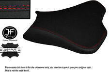 GRIP DESIGN 2 RED DS ST CUSTOM FITS KAWASAKI ZX10R 1000 08-10 FRONT SEAT COVER