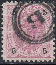 Österreich 1890 Nr. 53 stummer Stempel BRÜNN Befund VÖB