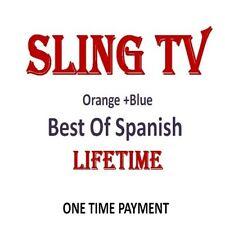 SlingTv ORANGE+BLUE+ BEST OF SPANISH 3 year - Instant