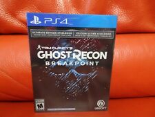 Tom Clancy's Ghost Recon Breakpoint ULTIMATE Edition 1 Year Access PS4 NEW!
