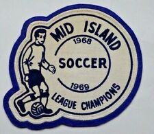 Vintage Soccer Patch - Mid Island League Champions 1968-1969