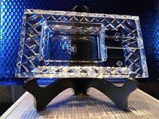 diamond crown Bristol crystal collection ashtray