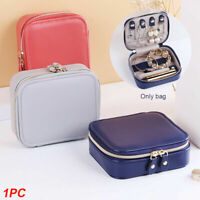 Jewellery‎ Box Makeup Storage Organiser Holder Portable Travel Case Holder Zip
