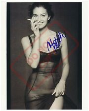 8.5x11 Autographed Signed Reprint RP Photo Monica Bellucci Smoking Sexy