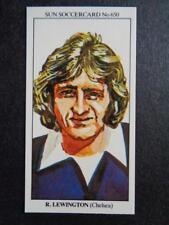 The Sun Soccercards 1978-79 - Ray Lewington - Chelsea #650