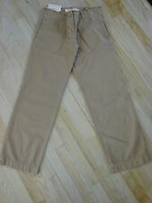 NWT J Crew Broken-in Weekend Chino Tan Pants Size 0 Womens