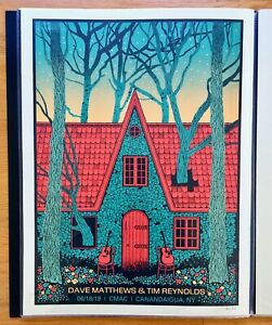 Dave Matthews Band & Tim Reynolds Concert poster 6/18/19, Canandaigua, NY
