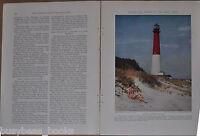 1933 NEW JERSEY magazine articles , people, places etc, color photos