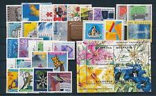 Switzerland 2001 Complete Year Set incl. Souvenir sheets  MNH