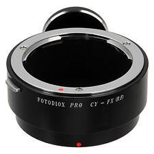 Fotodiox Pro Lens Adapter Contax/Yashica (CY) Lens to Fujifilm X Mount
