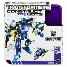 Soundwave Construct Bots Transformers Elite Class 48 Pieces