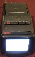 Rare- As-Is-6� Memorex Model 17-Portavision 8Mm Video Cassette Recorder Color Tv