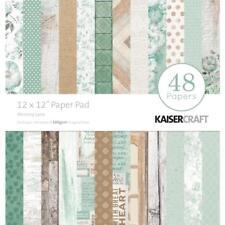 Memory Lane Collection 12x12 Scrapbooking Paper Pad 48 SH Kaisercraft PP249