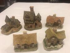 David Winter Cottages, Lot Of 5