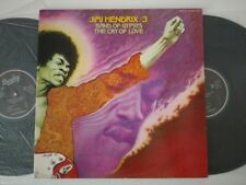 JIMI HENDRIX 2LP BAND OF GYPSYS / CRY OF LOVE 1975  BARCLAY 80 585/586 1ST PRESS