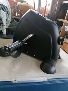 Mini Exercise Bike Rehailitation Gym Cardio Fit Leg Arm Pedal Trainer Machine