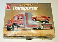 AMT ERTL TENNESSEE THUNDER TRANSPORTER PULLING TEAM MODEL KIT #6636 1/25th Scale