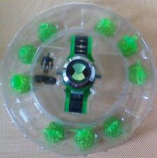 BEN 10 OMNITRIX HERO COLLECTION Collectible Watch & Figure Set-VERY RARE !