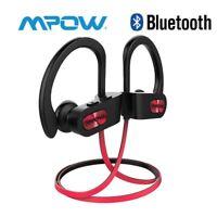 Mpow Bluetooth Headset Wireless Earbuds Sport Stereo Headphones Waterproof IPX7