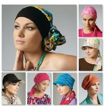 "McCall's 6521 Paper Sewing Pattern Headwrap Hat Chemo  20.5"" 21.5"" 22.5"" 23.5"""