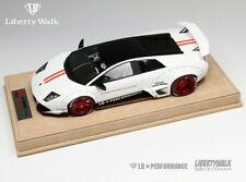1/18 LB Walks Liberty Performance Lamborghini Murcielago LP640 White Black Top
