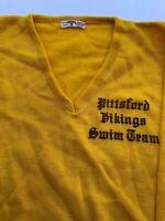 VINTAGE 1950S CHAMPION DORAN mens v neck 1950s champion sweater Pittsford Viking