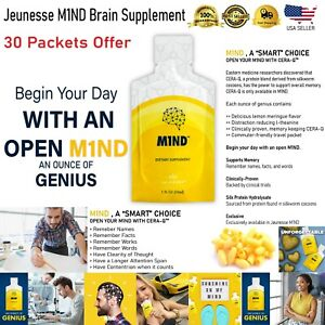 M1ND mind - Dietary Brain Supplement 30 Pack  Exp 5/2021.