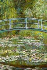 Claude Monet The Water Lily Pond Japanese Bridge - Poster 24x36 inch