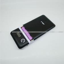 Black Mobile power bank 3.3A 5V-21V 18650 Battery Charger For 19V Laptop phone