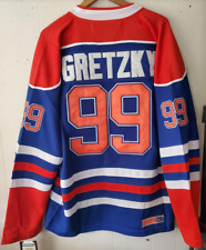 NWT Wayne Gretzky Edmonton Oilers Throwback Home Jersey CCM Size 2XL (54) 🔥